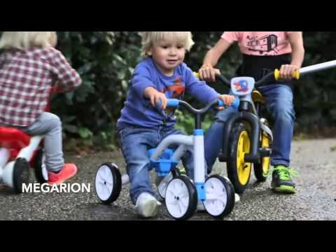 Видео 2016 - новинка бельгийская каталка-беговел Chillafish Quadie