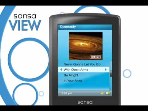 how to make playlists on sanza clip mp3 players