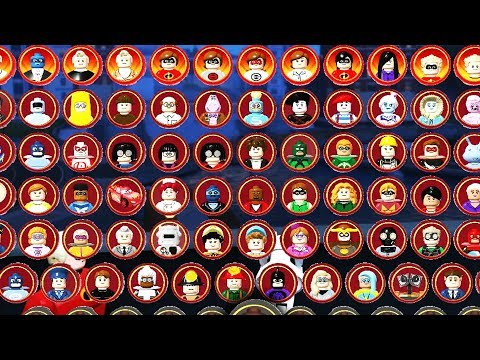 LEGO INCREDIBLES - ALL Characters Unlocked!