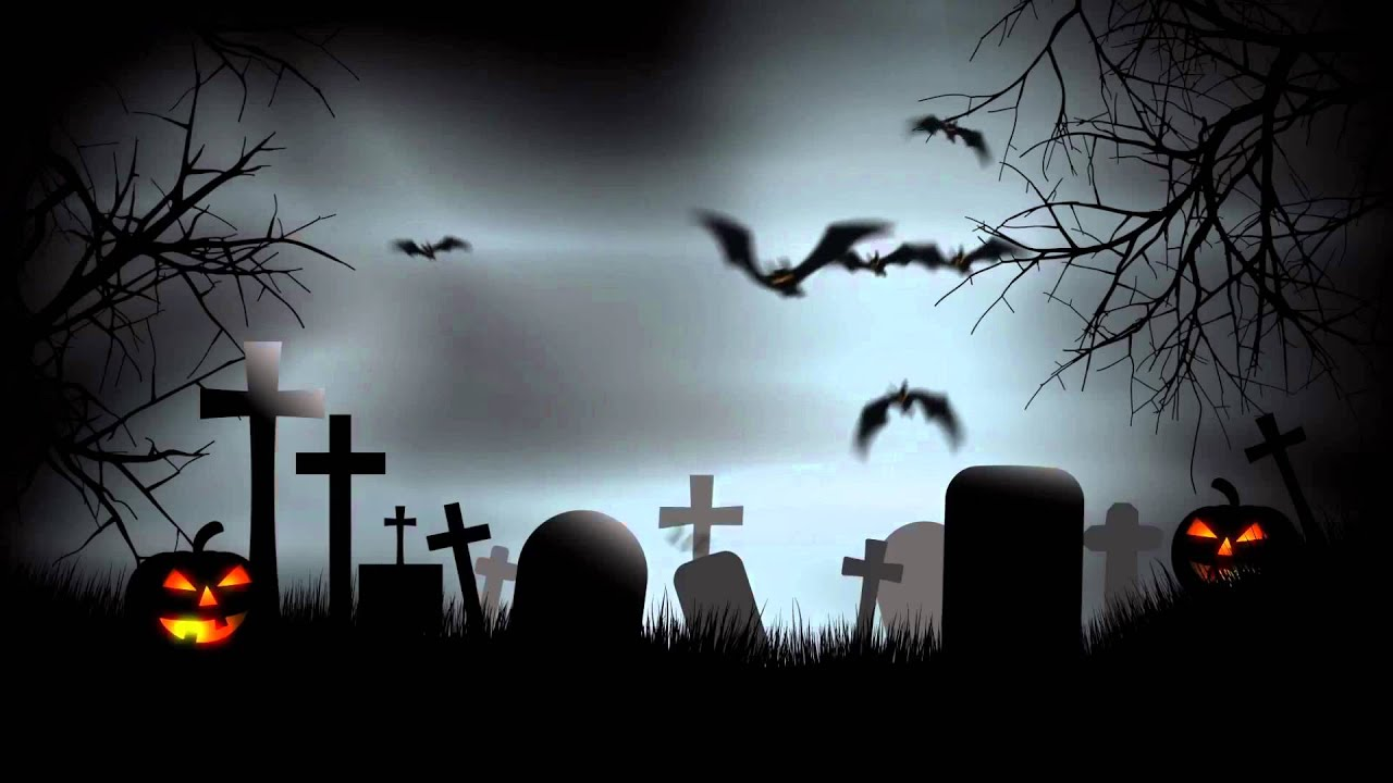 Halloween Graveyard Background After Effects Template.mp4 - YouTube