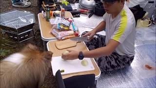ソロキャンプ+ワンズ3 in 明野高原キャンプ場編 Chichiri's Factory W...