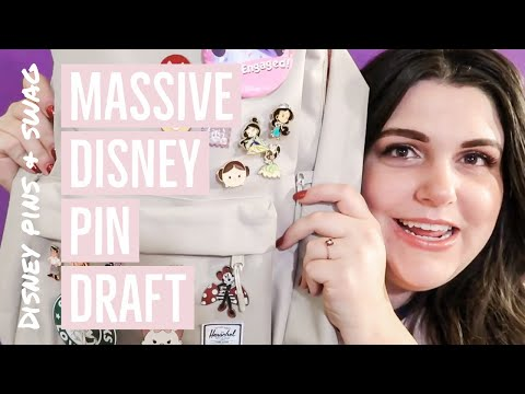 Episode 29: 2018 Disney Pin Haul & Draft
