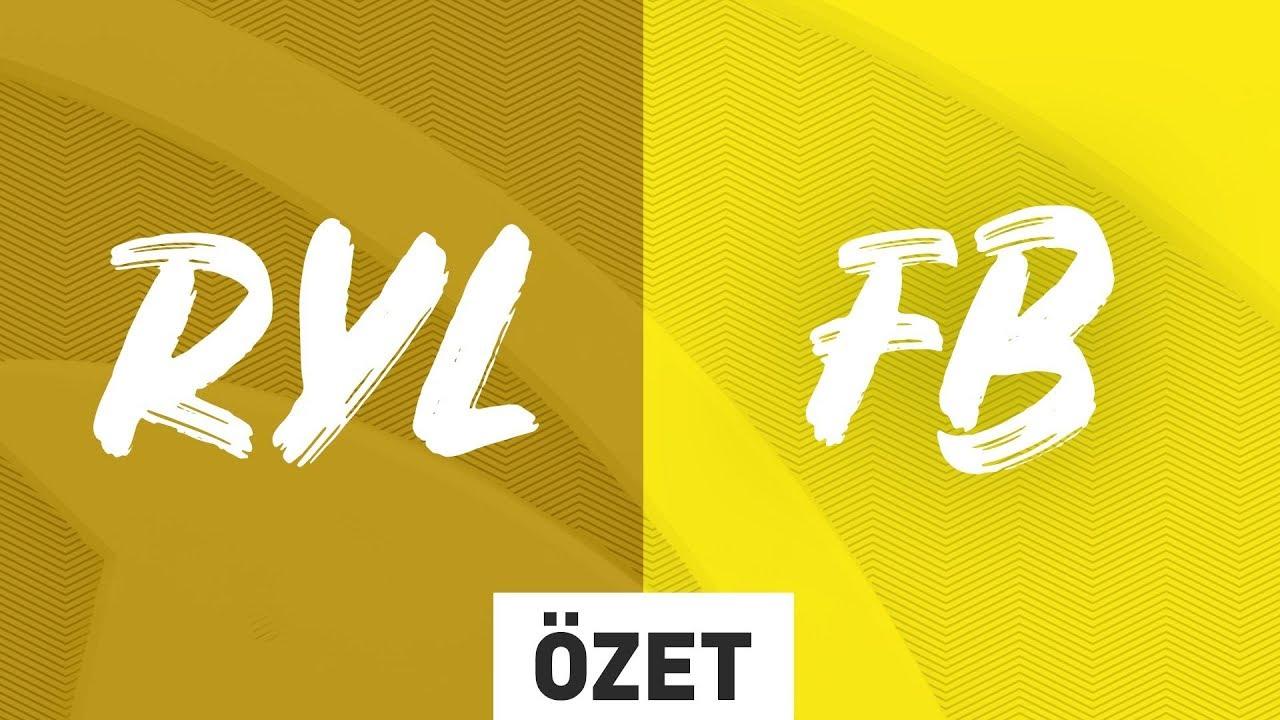 Royal Youth ( RYL ) vs 1907 Fenerbahçe Espor ( FB ) Maç Özeti | 2019 Yaz Mevsimi 2. Hafta