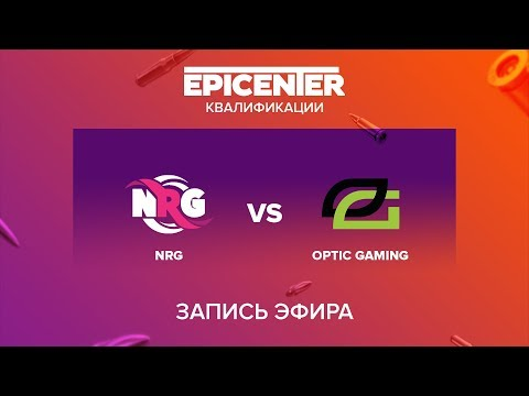 NRG vs OpTic Gaming - EPICENTER 2017 NA Quals - map1 - de_overpass [sleepsomewhile]