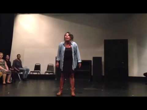 Olivia Washington performs