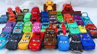Тачки 3 Молния Маквин и его Друзья Катаются с Горки Мультики про Машинки Cars 3 Lightning McQueen