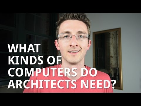 What Kinds of Computers do Architects Use