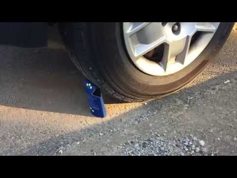 how to make a nail to flatten tire