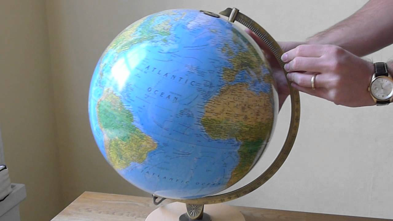 Wereldbol Met Licht : How to change a lightbulb in an insight guides globe youtube