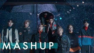 Gambar cover NCT U /BTS /EXO /MONSTA X – Boss/Fire/Ko Ko Bop/Dramarama MASHUP (feat. NCT 127 – Cherry Bomb)