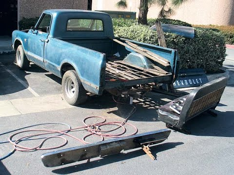 A Littles History And A Rollcage For My Chevy C10: Finnegan's Garage Ep.87