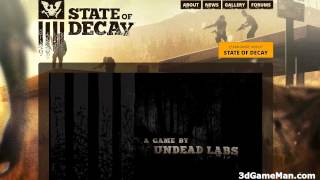 Upcoming Game: State Of Decay