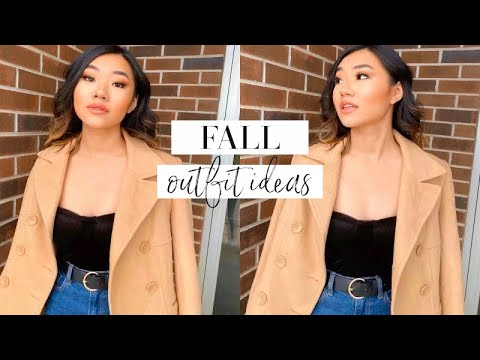 [VIDEO] - SIMPLE FALL OUTFIT IDEAS 🍂 1