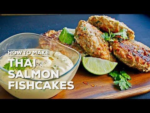 Carrie Scully Makes Thai Salmon Fishcakes | Budget Gourmet 036