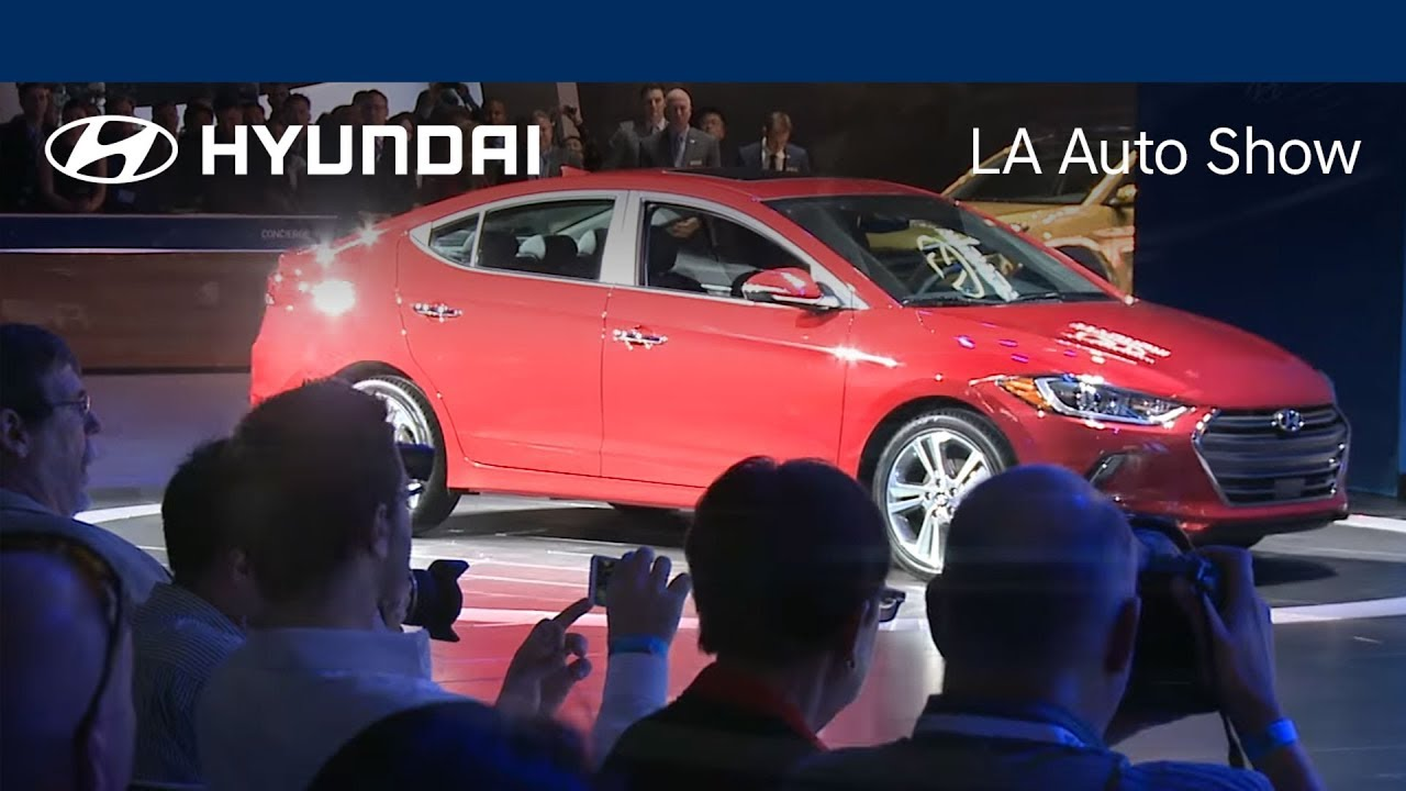 The AllNew Hyundai ELANTRA LA Auto Show Interview With Chief - Hyundai car show