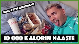 10 000 KALORIN HAASTE!