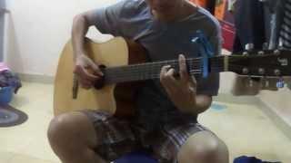 Dòng Thư Cuối Guitar Solo - Mạnh Khùng