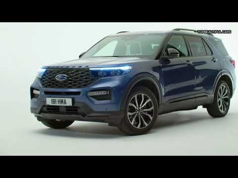 Ford Explorer Plug In Hybrid SUV 2020 Exterior and Interior