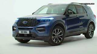 2020 Ford Explorer Plug-In Hybrid seven seater SUV / 2020 Ford