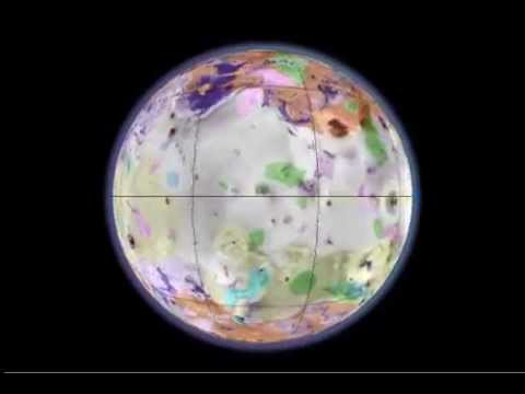 Rotating Globe of Io Geology