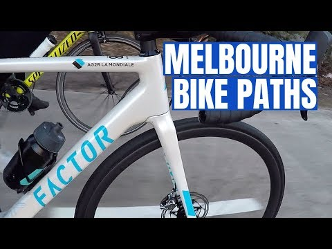 Cycling Melbourne Bike Paths With The Coach (including Detours!)