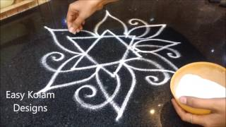 easy and simple rangoli designs | easy free hand rangoli designs | easy kolam designs, easy rangoli