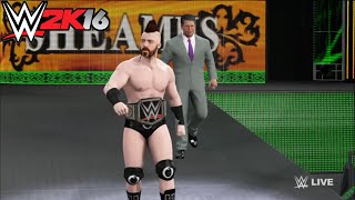 Roman Reigns vs. Sheamus - WWE World Heavyweight Championship Match: Raw,WWE 2K16 Simulation