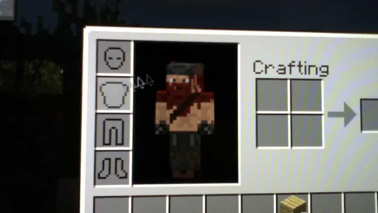 Minecraft: My Custom Viking Skin! - YouTube