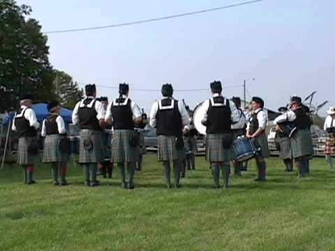 Ceol Neamh Pipe Band @ Capitol District Scottish Games 2011