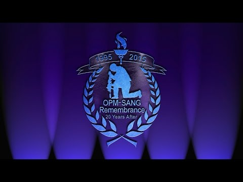 USASAC Remembrance Ceremony: 20th Anniversary of OPM-SANG Bombing - HD