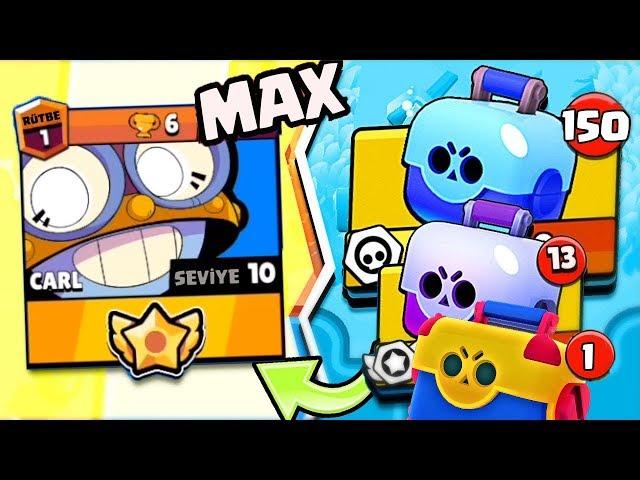 MAX CARL! YENİ KARAKTER CARL MAX YAPTIM !!! - Brawl Stars