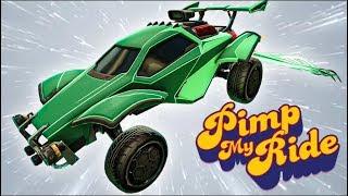 Pimp My Rocket League Ride - Tryhard/Clean Designs