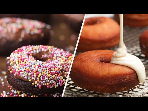 5 Delicious Donut Recipes To Warm Your Soul • Tasty