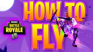 HOW TO FLY!!! - Fortnite Battle Royale - Season 4! - FORZA GIVEAWAY INFORMATION! - NEW CHANNEL INFO!