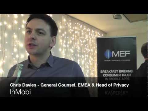 MWC 2013 - Chris Davies, General Counsel EMEA and Head of Privacy, InMobi