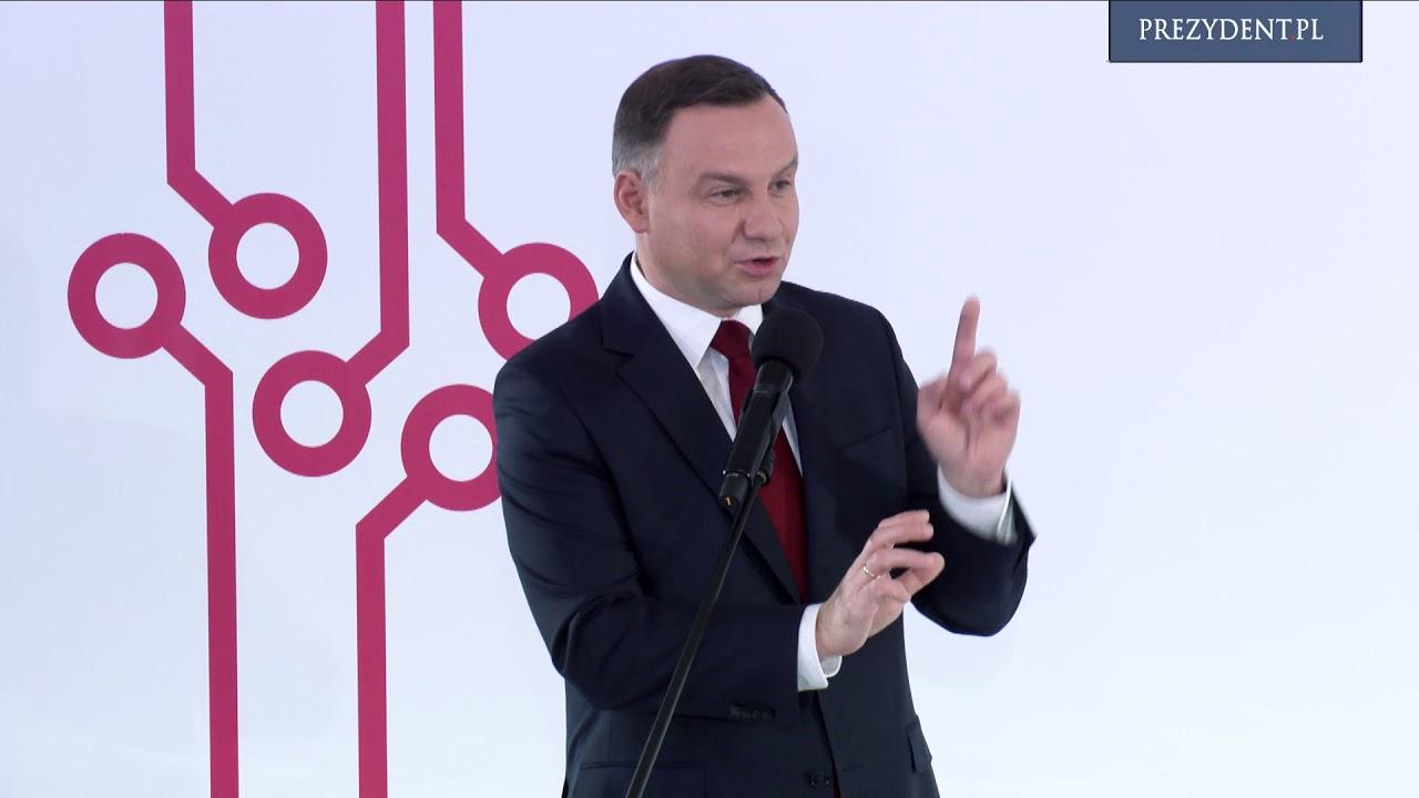 """Prezydent RP na konferencji """"Technologie przyszłości. Biotechnologia"""""""