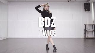 Gambar cover TWICE (트와이스) - BDZ (불도저)  Dance Cover / Cover  by Sol-E KIM (Mirror Mode)