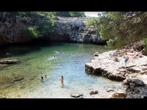 Island Lokrum near Dubrovnik, Croatia
