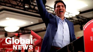 New details on why Trudeau wore protective vest during 2019 election rally