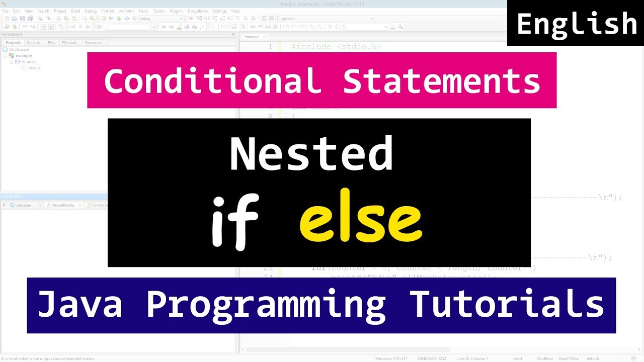 Nested If Else Statements