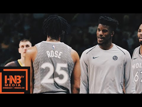 Minnesota Timberwolves vs Denver Nuggets Full Game Highlights / April 5 / 2017-18 NBA Season