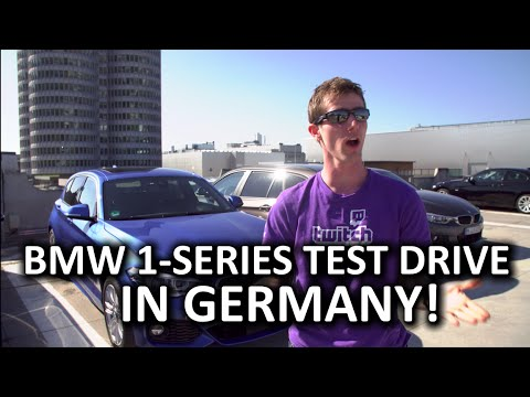 Joyride with the new BMW 1 Series in Germany