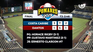 Dantos de Managua vs. Costa Caribe - [Partido Completo] - [12/05/18]