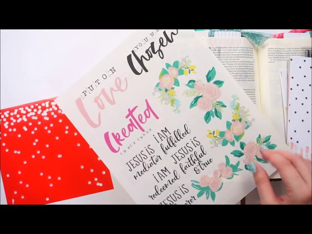 How to create Custom Titles for your Faith Planner