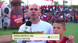 Rionegro campeón del zonal oriente del PonyFútbol