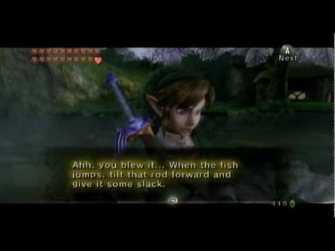 Twilight Princess [Bonus - Fishing Journal + Other Fishing Japes]
