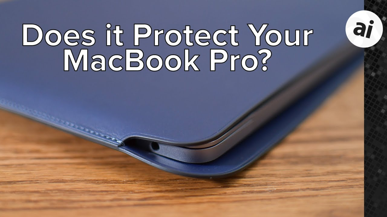 huge selection of 50113 da918 Review: Apple's Leather Sleeve for MacBook Pro is Pricey but Well Made