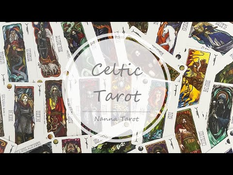 開箱  凱爾特諾倫女神塔羅牌 • Celtic Tarot // Nanna Tarot