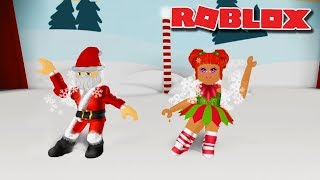 CHRISTMAS LA TUA BLOX OFF DUO Santa Claus e Elf Christmas Dance Roblox