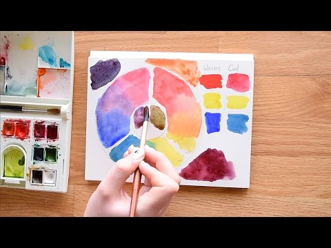 Color Theory & Mixing Demystified ~ In Watercolors